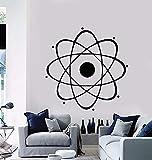 wZUN Ciencia Nuclear Química Física Pared Escuela Aula Habitación de los niños Decoración de...