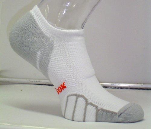 Vitalsox Course à Pied Ghost Poids léger Sock Vt0310, Femme Homme, Blanc, Moyen
