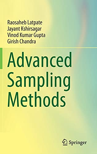 Advanced Sampling Methods Front Cover