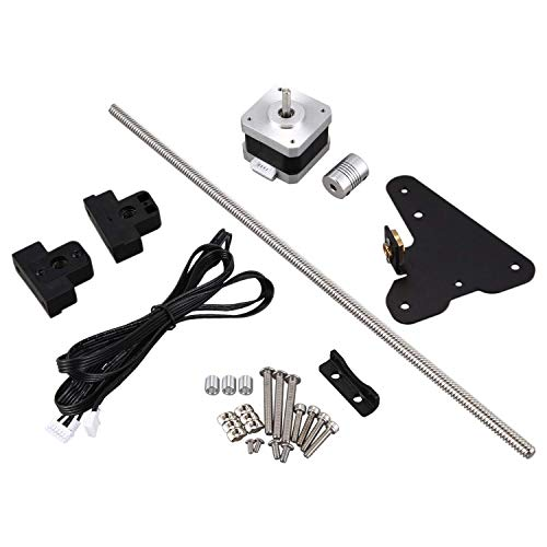 Ezeruier Upgraded dual Z-axis screw module kit for Ender 3 Pro 3D printer parts, Creality Ender accessories.