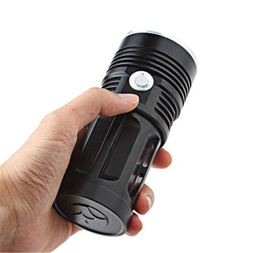 LED Flashilight Taschenlampe, Minkoll 38000 Lumen XML T6 3 Modi Jagd Taschenlampe Lampe, 11 Chips