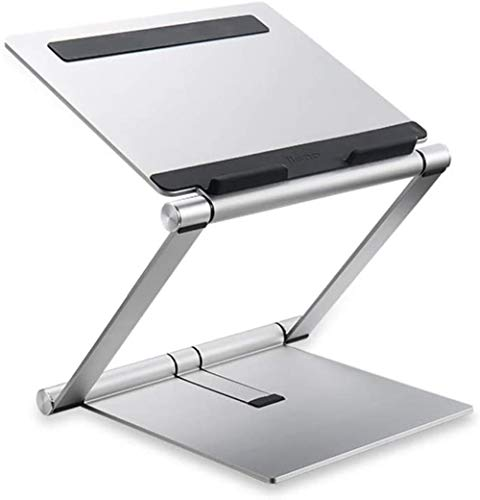 THBEIBEI Laptop Stand De Escritorio Elevación De Elevación Y Plegado Oficina De Aleación De Aluminio De Refrigeración Cuadernos Base por Menos De 17 Pulgadas