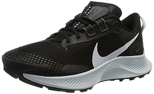 Nike W Pegasus Trail 3, Scarpe da Corsa Donna, Black/Pure Platinum-Dk Smoke Grey, 36.5 EU