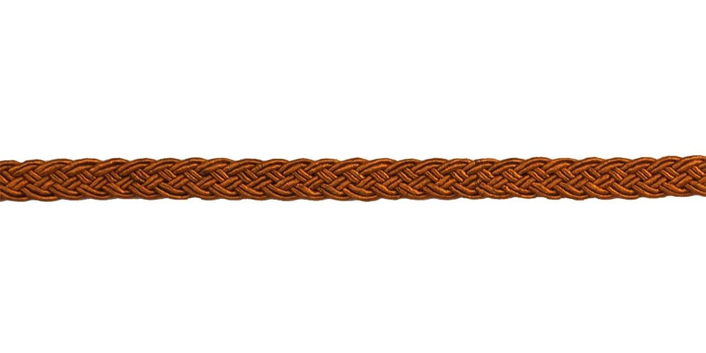Belagio Enterprises 3/8-inch Woven Braid Trim 50-Yard, Rust