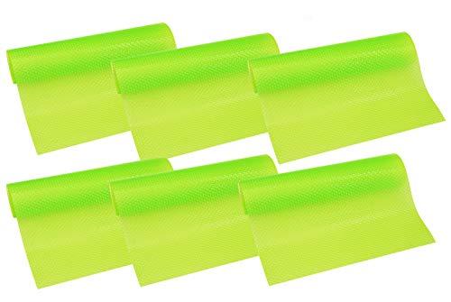 HityTech Kühlschrank-Pads, 4 Stück 6er-Packung - Grün