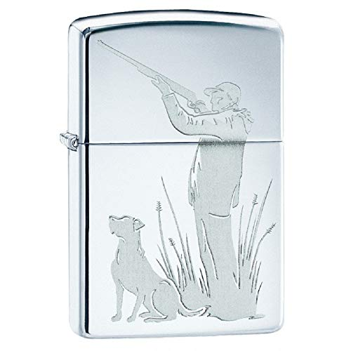Zippo Accendino Hunter and Dog