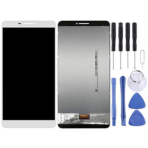 Zhouzl Lenovo LCD Screen LCD Screen and Digitizer Full Assembly for Lenovo Phab / PB1-750M / PB1-750N(Black) Lenovo LCD Screen (Color : White)