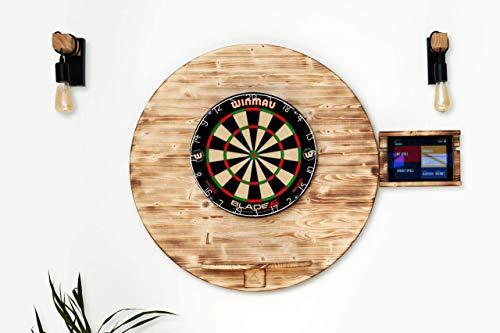 Runstyle Deluxe Holz Design Dart Wandschutz