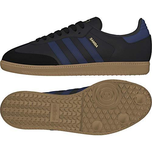 Adidas Samba W, Zapatillas de Deporte para Mujer, Negro (Negbas/Indnob / Gum4 000), 36 EU