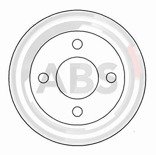 ABS 15561 Bremsscheiben - (Verpackung enthält 2 Bremsscheiben)