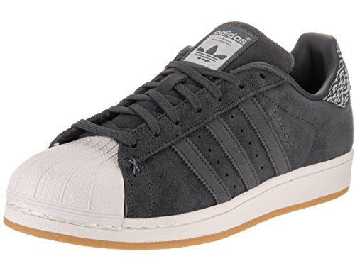 Adidas Originals Herren Superstar Skate-Schuh, (grau, weiß), 40.5
