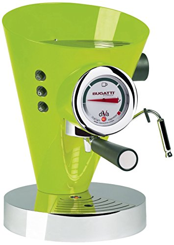 Casa Bugatti 15-DIVACM Kaffeevollautomat Diva, grün