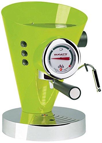 Casa Bugatti 15-DIVACM Volautomatische espressomachine Diva, groen