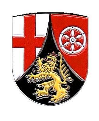 Pin Anstecker Rheinland Pfalz Wappen