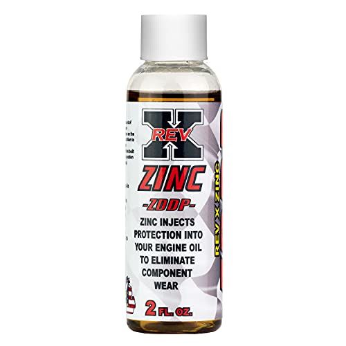 REV X ZDDP Oil Additive - Zinc for Flat Tappet Cams & Engine Break in (1)