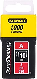 Stanley 1-TRA206T 10mm A-Type Light Duty Staples