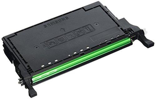 Samsung CLT-K5082L/ELS Original Toner (Hohe Reichweite, Kompatibel mit: CLP-620/CLP-670/CLX-6220/CLX-6250 Series) schwarz