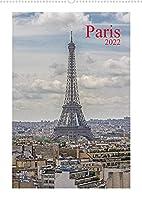 Paris (Wandkalender 2022 DIN A2 hoch): 12 Bilder aus der Seine Metropole auch abseits der ausgetretenen Pfade. (Monatskalender, 14 Seiten )
