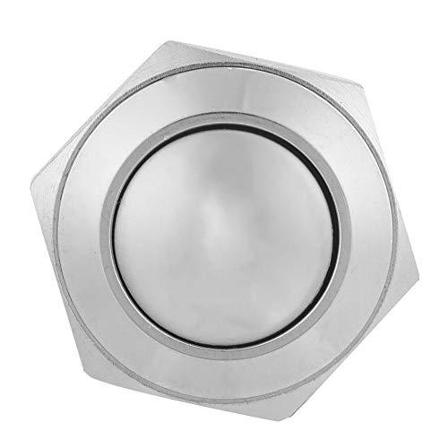 Interruptor de botón, interruptor de botón momentáneo, interruptor de botón de cabeza redonda, estable para la industria doméstica confiable