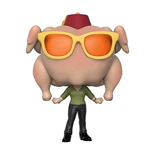 Funko Pop Television: Friends - Monica Geller with Turkey Head Collectible Figure 706