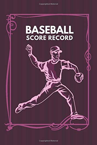 Baseball Score Record: Professional Baseball Scoring Sheet, Score Sheet Notebook for Outdoor Games, Gifts for Game Records, Game lovers, Friends and ... with 110 Pages. (Baseball Scorebook, Band 22)