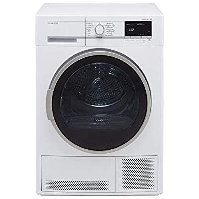 Sharp KD-GCB8S7GW9-EN 8Kg Condenser Tumble Dryer - White - B Rated