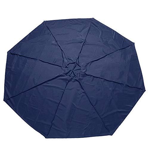 Yi-xir Experiencia confortable 300x300x115cm Tienda de campaña Sombrilla de sombrilla exterior Patio Jardín Paraguas Canopy TapeCoat Anti-UV Reemplazo Cubierta Tienda Sombrilla Paraguas de viaje compa