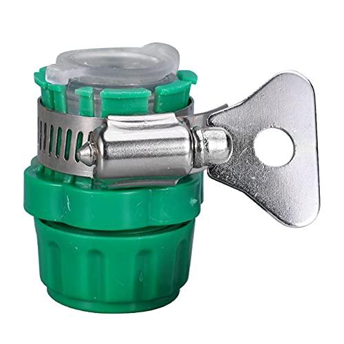 Akatsukiqi Adaptador de grifo de agua universal Manguera de plástico Manguera de cocina Manguera de jardín Manguera de tubería Manguera de la manguera Jardín de riego de la manguera para 15-21mm