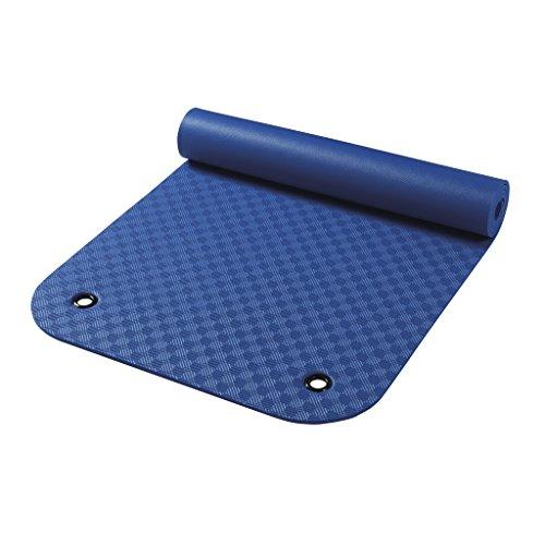 Wehncke Uni Gymnastikmatte Mit Ösen, blau, 65 x 180 cm, 24903