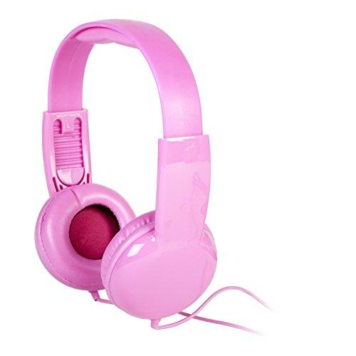 Vivitar V12009-PNK Kids Safe Volume Control Headphones, Pink