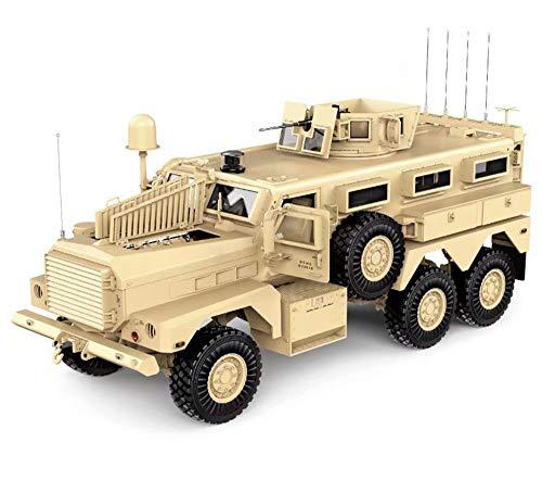 Integy RC Model Hop-ups C29005 HG-P602 1/12 6X6 RC Military Cougar ARTR w/2.4GHz Remote, Sound & Light Upgrades