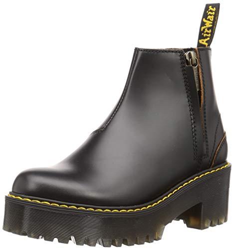 Dr. Martens Women's Chelsea Boot, Black Vintage Smooth, 10