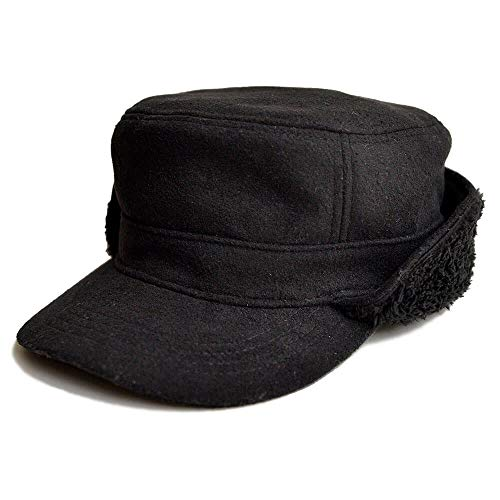 帽子 メンズ キャップ Nakota ナコタ <ブラック> ファー ウール ワークキャップ レディース カジュアル ...