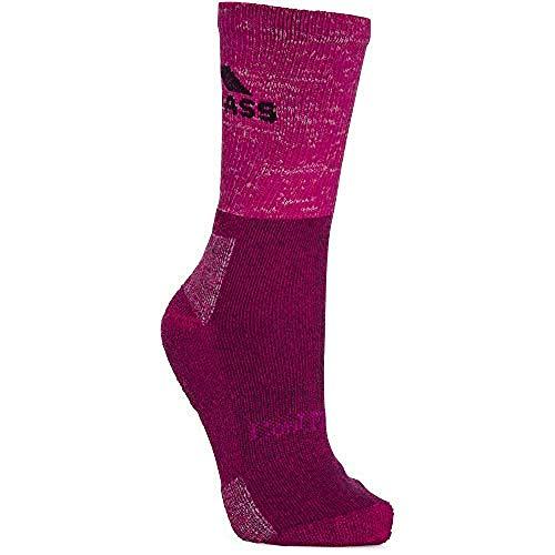 Trespass Damen Leader Socken, Pink Meliert, 40/43