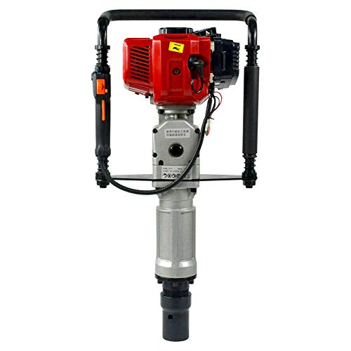 Gasoline Piling Driver 2.3HP 2 Stroke 52CC Gas Powered Heavy Duty T Post Driver Piledriver With Profession Kit