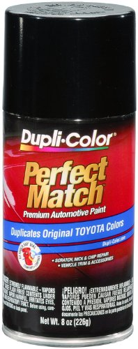 Price comparison product image Dupli-Color BTY1566 Black Metallic Toyota Exact-Match Automotive Paint - 8 oz. Aerosol