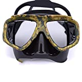 RatenKont Máscara Buceo para miopía antiniebla para Equipo Pesca...