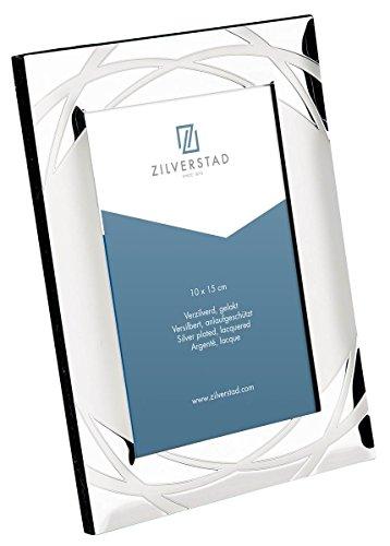 Zilverstad 7637232 - Cornice per foto Verona, lucida, argento, argento