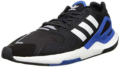 Adidas Day Jogger Uomo, (Cblack Ftwwht Blue), EURO: 42 | US: 8,5 | CM: 26,5 cm | UK: 8