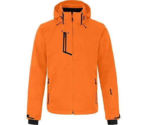 Bergson Herren Skijacke Nano, Persimmon orange [513], 26 - Herren