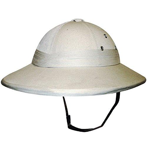 Déguisement Safari - Qualité supérieure - Chapeau pour Adulte - Beige - Taille unique