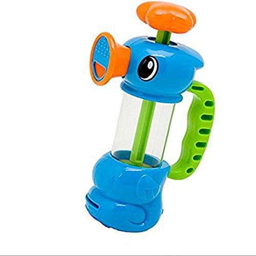 Vi.yo Kinder Badewanne Spielzeug Hippocampus Wasserpumpe Sprinkler Hippocampus Wasserpistole Wasser Spiel Spielzeug für 3-6 Jahre Alt