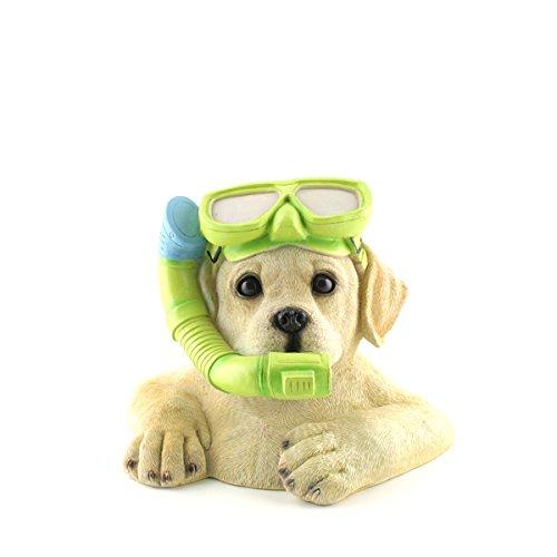 AM-Design hond met duikbril, hoogte ca. 17 cm | AM-31543 | 4056422315433