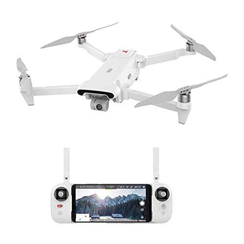 BJJH Drone für Xiaomi FIMI X8 SE 8KM 2020 Drohne WiFi GPS FPV RC Quadcopter 3-Achs-Gimbal-Drohne mit 4K HDR Kamera (Weiß)