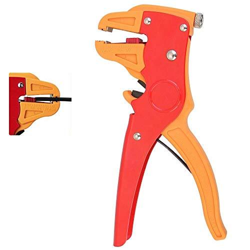 Perfetsell Automatischer Abisolierer und Schneider, verstellbar, isoliertes Kabel-Abisolierwerkzeug für Elektronik- und Automobil-Reparatur