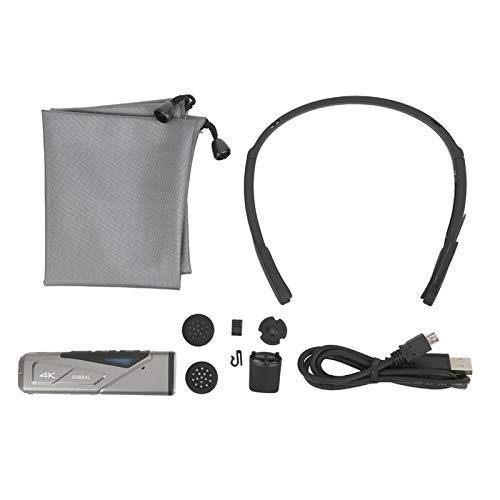 DAUERHAFT Cámara Digital DV de Montaje en Cabezal de Enfoque automático, para fotografía y vídeo Modelo EP7(Standard)