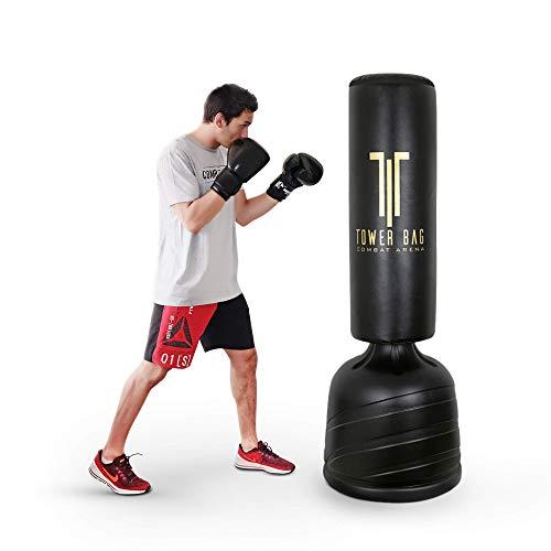 Combat Arena Training Pro Sacco a Terra. da Fit Boxe. Regolabile in...