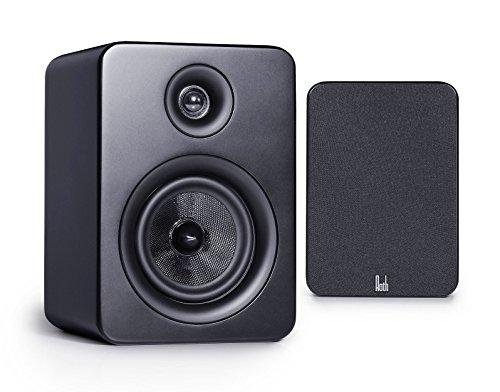 Roth Audio OLI RA1 4 inch 2 Way Pair Of Bookshelf Design Speakers - Bl