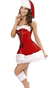 Best christmas corset dress Reviews