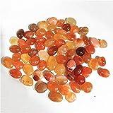 U/D Carnelian Bulk STONETED STONS Natural Cuarzo Gemstones Cristales Gems Fish Decoración de Hogar Cristales de Piedra (Color : Approx15-20mm, Size : 100g)